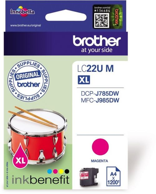 Brother LC22UM Magenta Ink 15ml