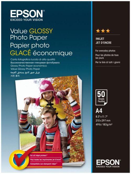 GLOSSY PHOTO PAPER A4 50 SHEET