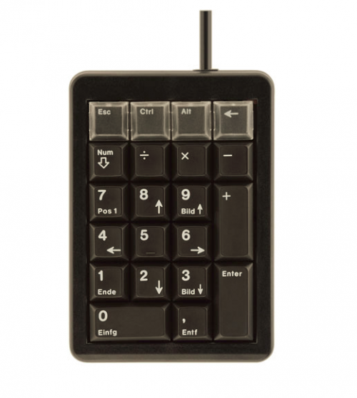 USB WIRED LOW PROFILE NUMERIC KEYPAD