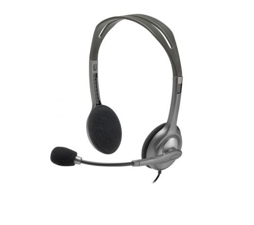 Logitech H111 Binaural Headband Grey