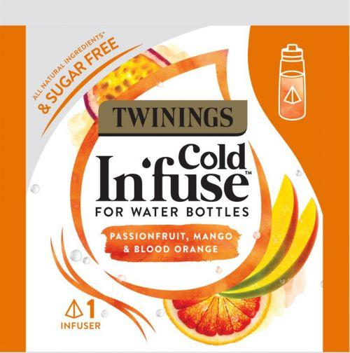 Twinings Cold Infuse Passionfruit Mango & Blood Orange Pack of 100 F15121