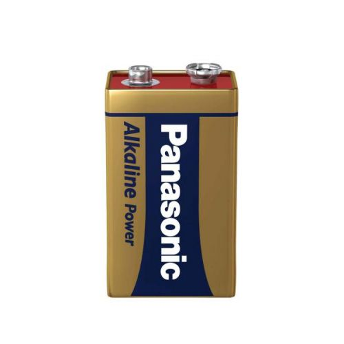 9V Panasonic Bronze Power Battery (Pack1)