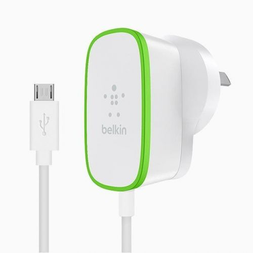 Belkin Wired Micro USB Mains White