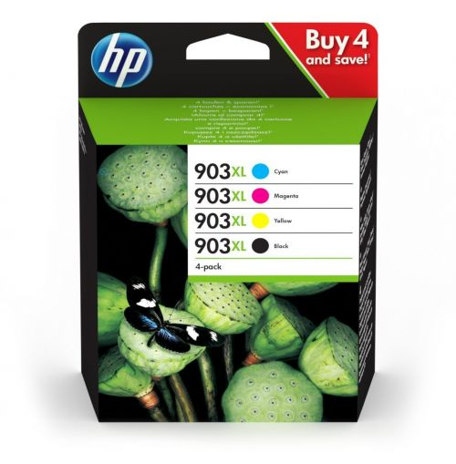 HP 3HZ51AE 903XL Ink Multipack 21.5ml and 3x 9.5ml
