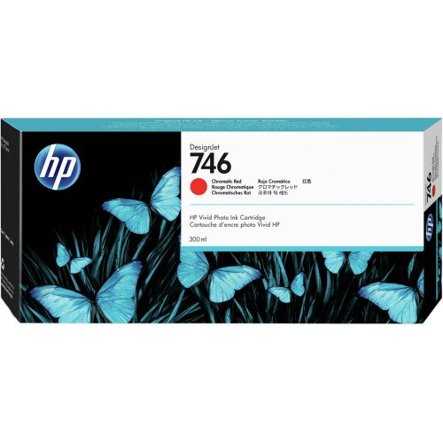HP P2V81A 746 Chromatic Red Ink 300ml