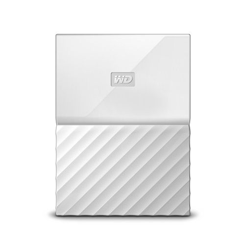 2TB My Passport USB3 White 2.5in Ext HDD