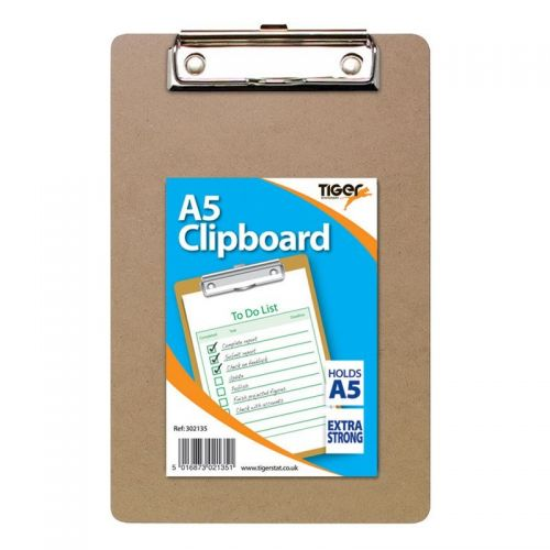 Image for Tiger A5 Masonite Clipboard