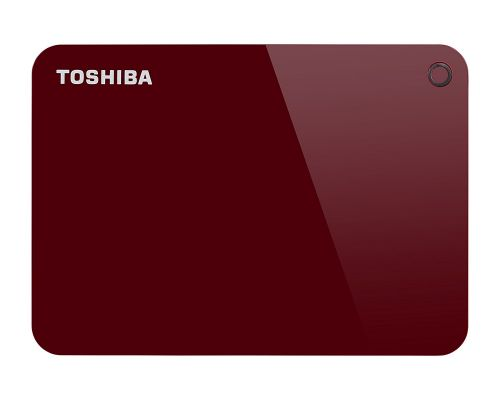 Toshiba 1TB Canvio Advance Red External HDD
