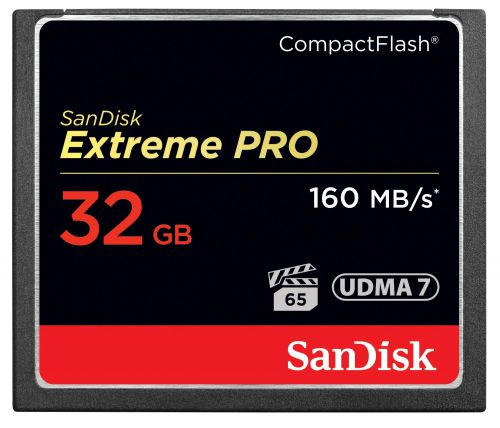 Sandisk 32GB Extreme Pro Compact Flash