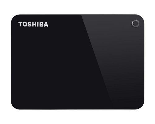 Toshiba External 2TB Canvio Advance Black HDD