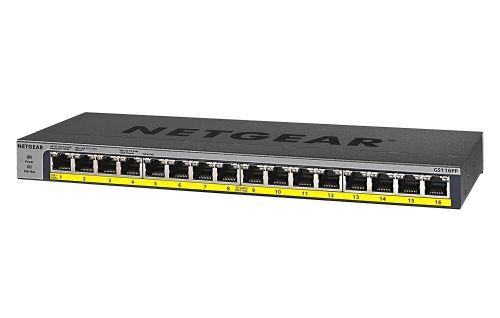 16 Port PoE Gigabit Unmanaged Switch