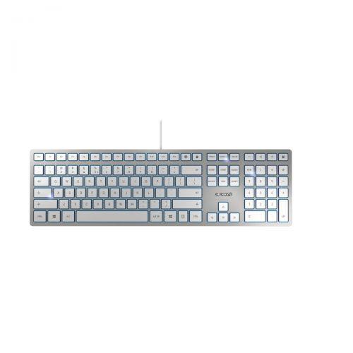 Cherry KC 6000 Slim Silver USB Keyboard
