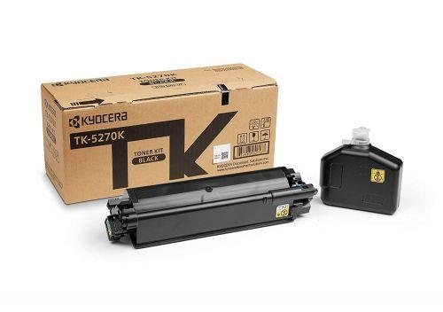 Kyocera 1T02TV0NL0 TK5270K Black Toner 8K