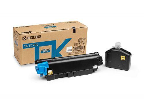 Kyocera 1T02TVCNL0 TK5270C Cyan Toner 6K
