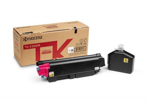 Kyocera 1T02TWBNL0 TK5280M Magenta Toner 11K