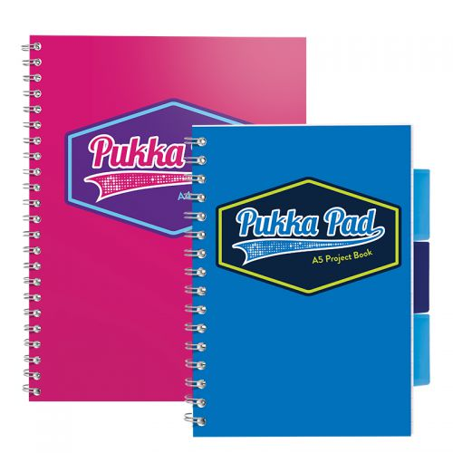 Pukka Vision Project Book A5 Blue PK3