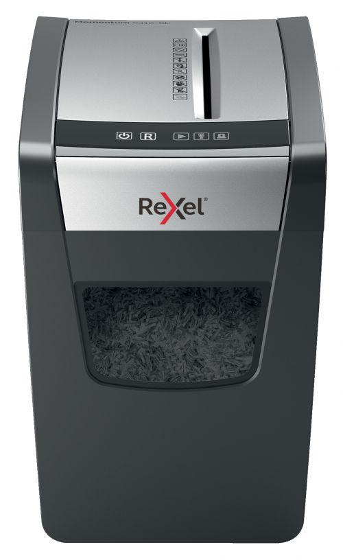 [ EX ] Rexel Momentum X410-SL Slimline Cross-Cut Shredder