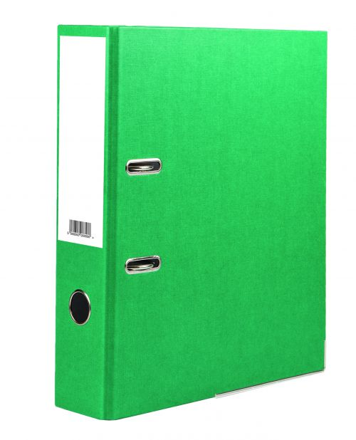 Value Lever Arch File A4 Green PK10