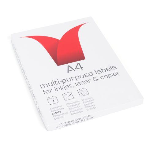 ValueX Multipurpose Label 103x292mm 2 per Sheet (200 Labels)