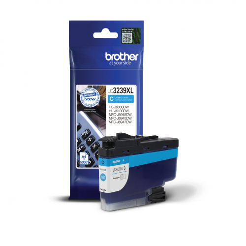 Brother LC3239XLC Cyan Ink 50ml