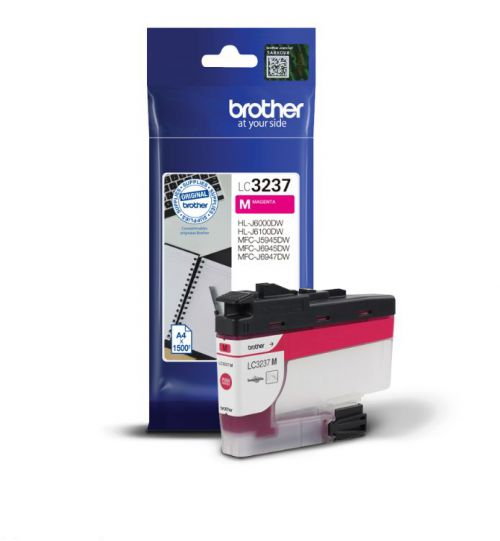 Brother LC3237M Magenta Ink 16ml
