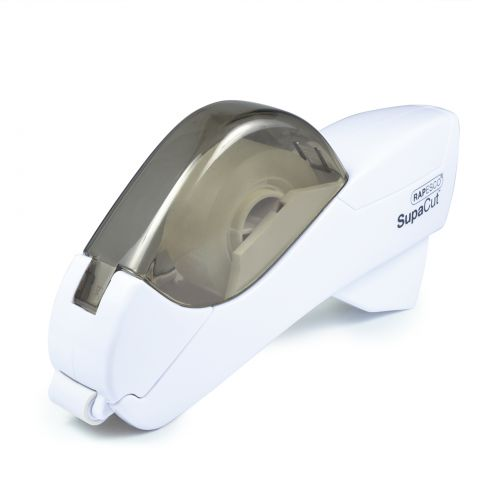 Rapesco SupaCut Tape Dispenser With 2 x Tape Rolls WH