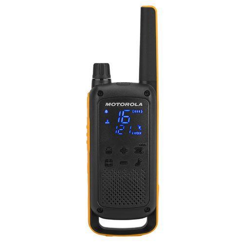 Motorola T82 Extreme Walkie Talkie Radio 4 Pack