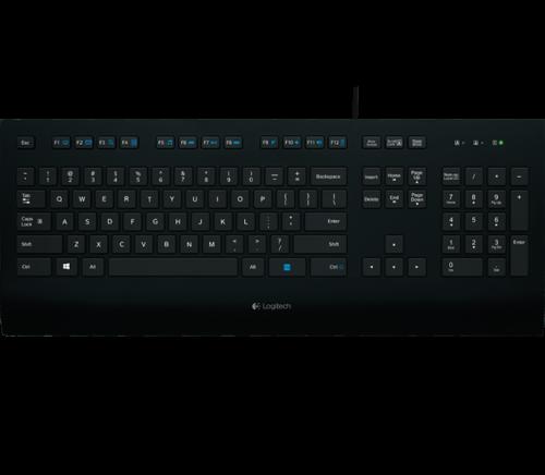 Logitech K280e USB Corded Keyboard