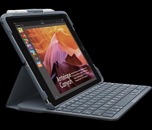 Logitech Slim Folio Carbon Black Keyboard Case