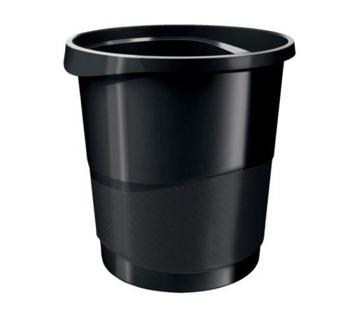 Rexel Choices Black Waste Bin