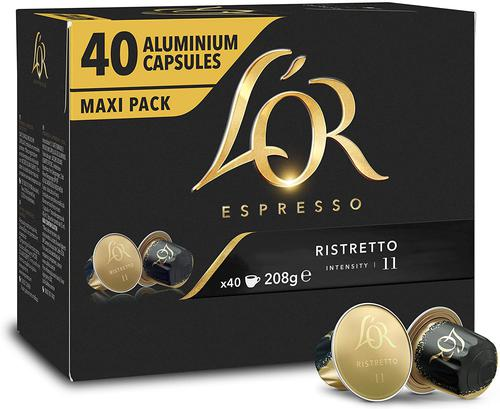 L OR Ristretto Coffee Capsules (Pack 40) 4028490