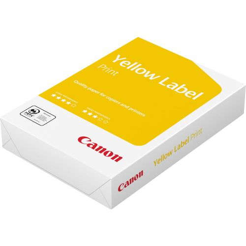 Canon Yell Label Paper A3 80gsm BX5