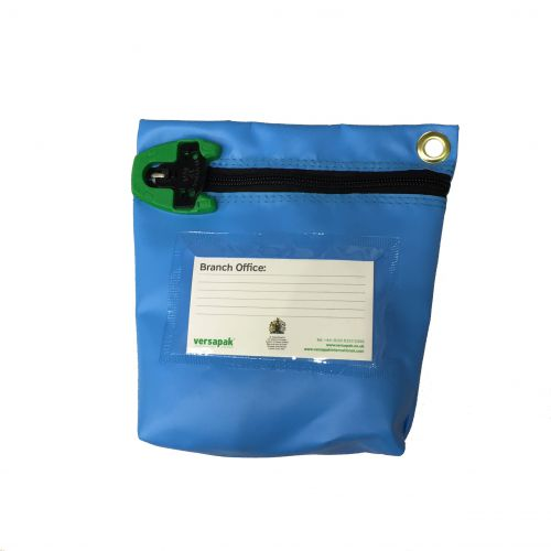 Versapak Antimicrobial Cash Bag Med 267x267x50mm T2 lock