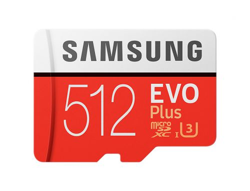 Samsung Evo Plus 512GB Micro SD Flash Card
