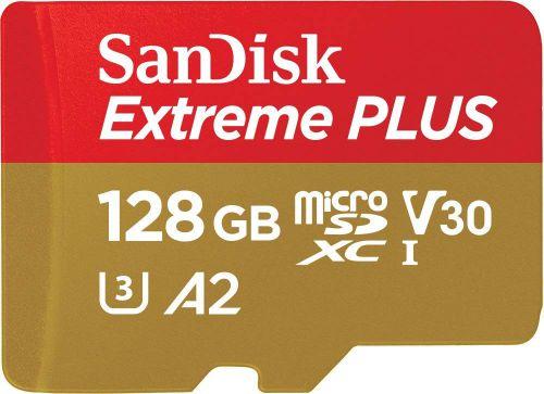 SanDisk Extreme Plus 128GB Micro Sdxc