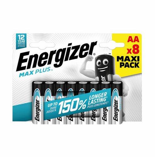 Energizer Max Plus AA PK8