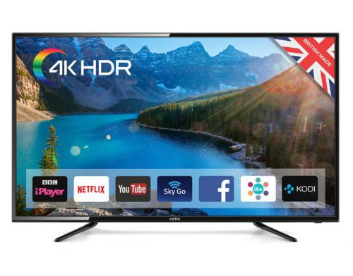 Image for Cello 58in C58SFS4K 4K UHD LED TV