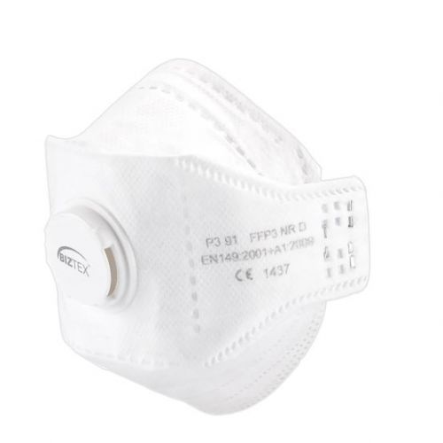 Eagle FFP3 Dolomite Respirator White Pack 10
