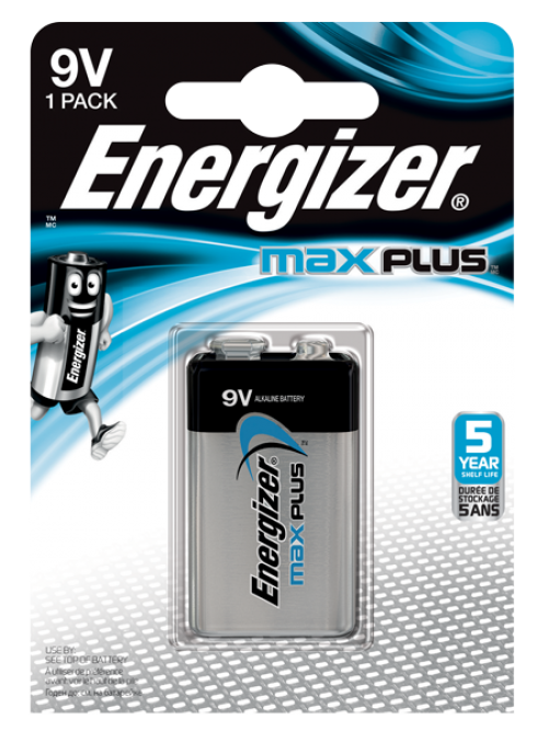 Energizer Max Plus 9V Single