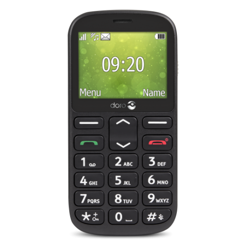 Doro 1360 easy to use Candy Bar phone