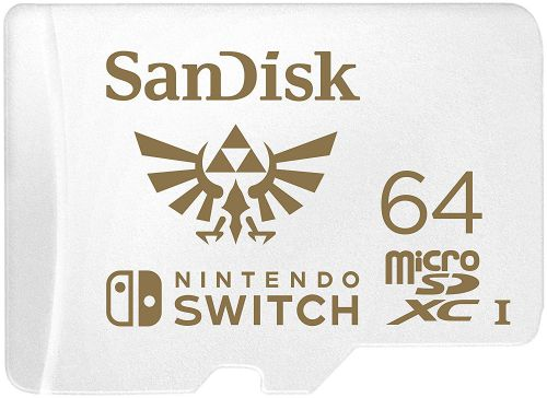 SanDisk Nintendo Switch 64GB Micro SD Card