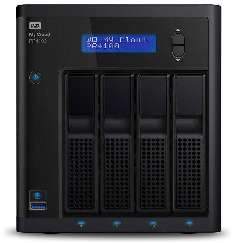 WD My Cloud PR4100 24TB 4 Bay NAS External HDD