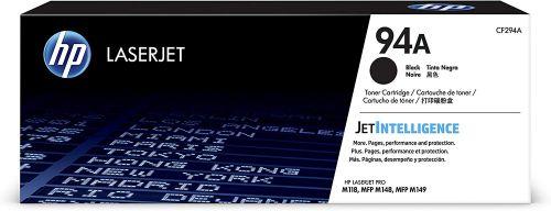 HP CF294A 94A BLACK TONER CARTRIDGE 1.2K