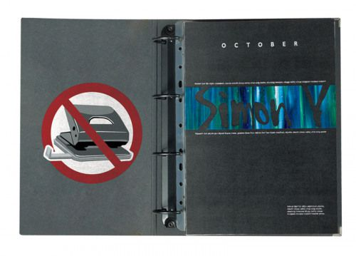 3L Filing Strips 295mm A4 Transparent 8804-50 PK50 3for2