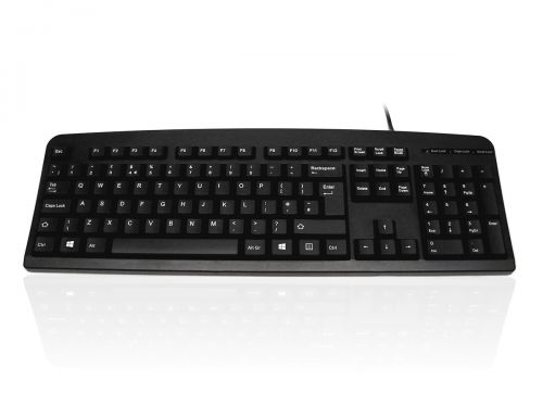 Accuratus 201 Slim Black Keyboard