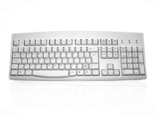 Accuratus 260 USB White Keyboard
