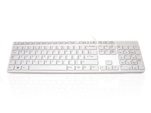 Accuratus 301 USB White Keyboard