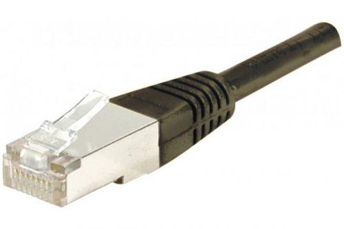 EXC Patch Cable RJ45 F UTP cat.6 Black 20M