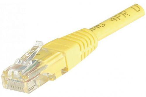 EXC Patch Cable RJ45 U UTP cat.6 Yellow 7M