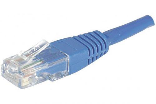 EXC Patch Cable RJ45 U UTP cat.6 Blue 10M